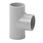 TEE PVC-C 90° INCOLLAGGIO